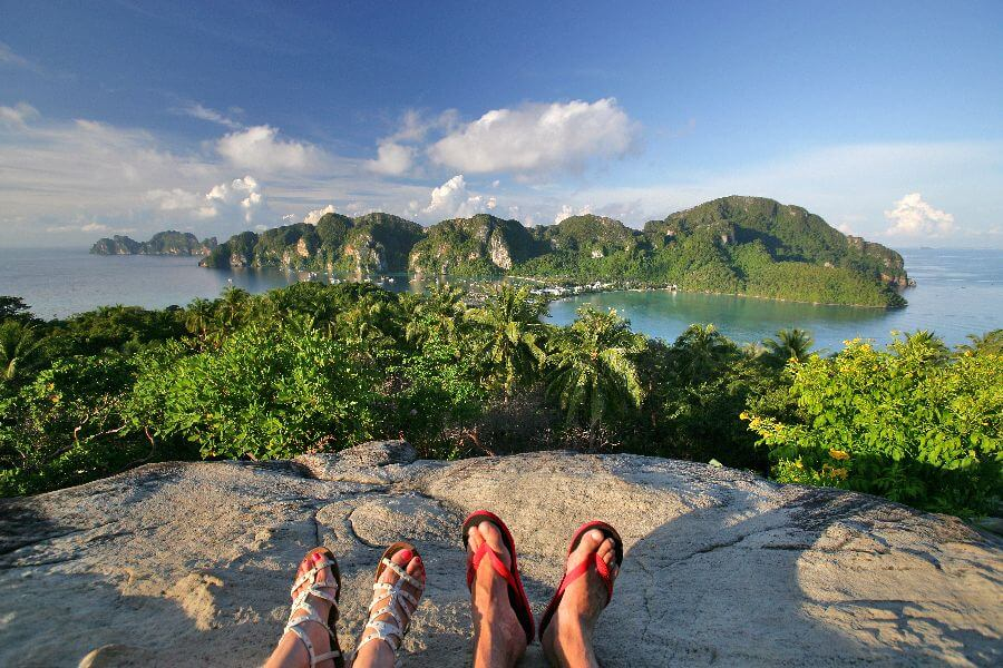 Blog - Thailand - Koh Phi Phi uitzicht bezienswaardigheden - Beste reistijd Thailand