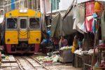 Thailand - Drijvende Markt en Treinmarkt Tour