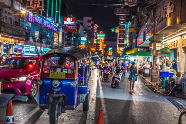 Thailand - Bangkok - tuktuk - 02