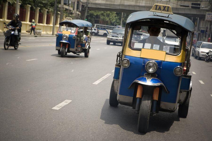 Thailand - Bangkok - tuktuk - 01
