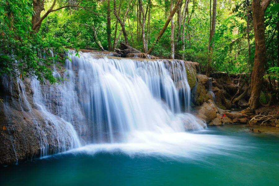 Thailand - Erawan - waterval - 01