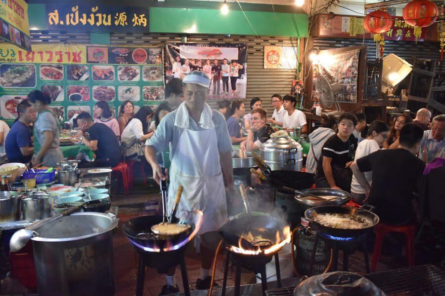 Thailand - Bangkok - Foodtour per tuktuk - Chinatown 2