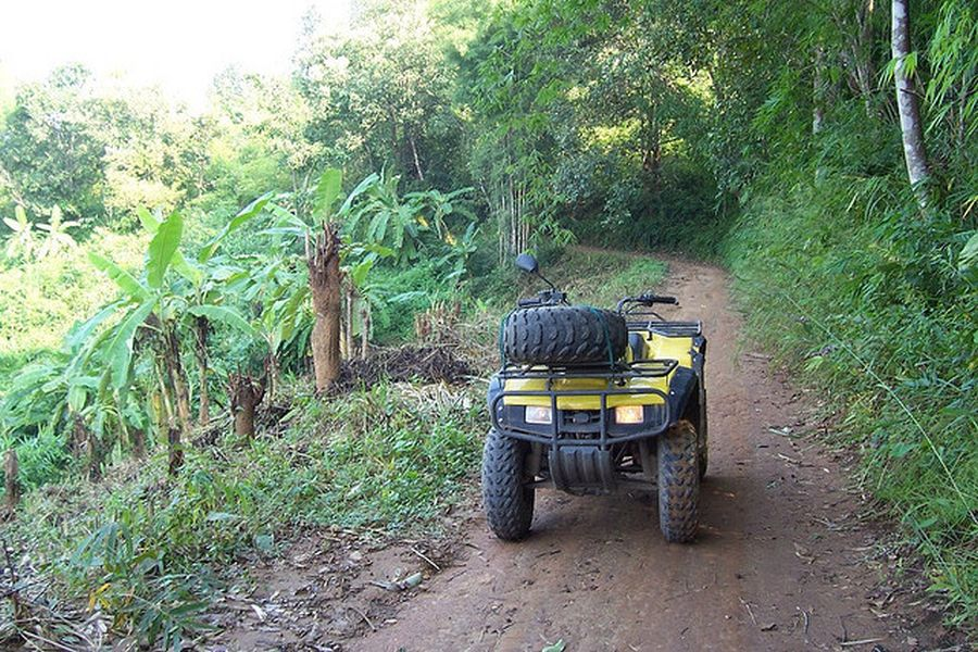 Thailand ATV Jungle Trails