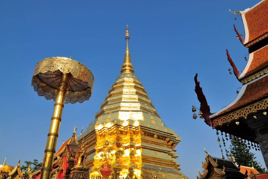 Thailand Chiang Mai Doi Suthep