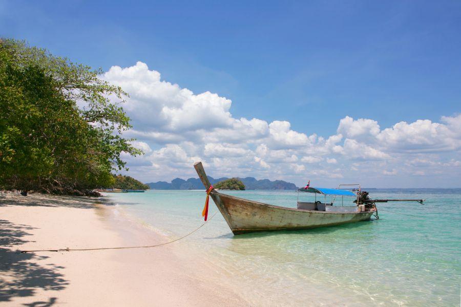Thailand Samui boat